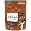 Navitas Organics, Organic, Cacao Sweet Nibs, 4 oz (113 g)