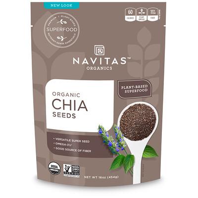 Органические семена чиа, 454г de la sierra семена чиа 300 г