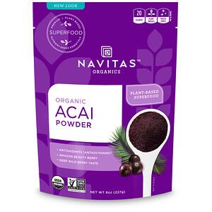 Навитас Органикс, Organic Acai Powder, 8 oz (227 g) отзывы покупателей