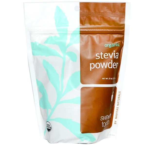 Navitas Organics, Organic, Stevia Powder, 8 oz (227 g) (Discontinued Item)