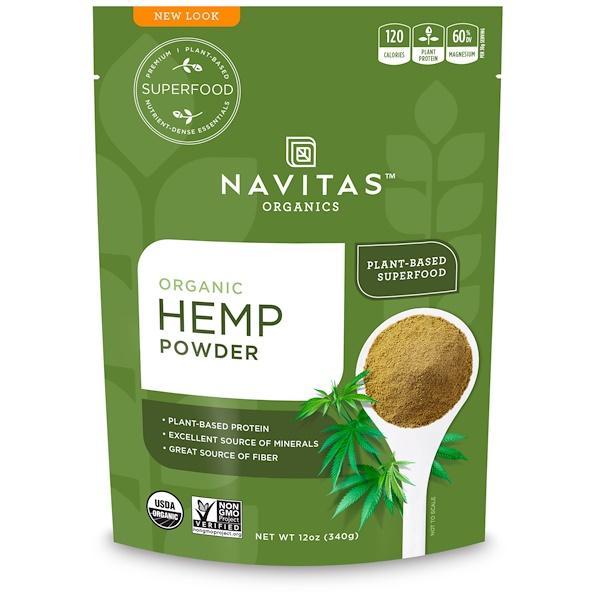 Navitas Organics, Chia Powder, Sprouted Chia Powder, 16 oz (454 g) (Discontinued Item)