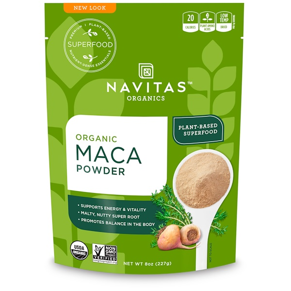 Navitas Organics, Organic Maca Powder, 8 oz (227 g) (Discontinued Item)