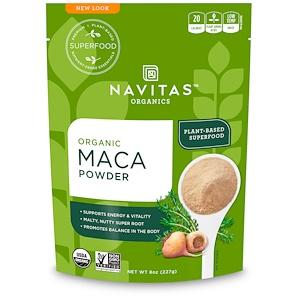 Навитас Органикс, Organic Maca Powder, 8 oz (227 g) отзывы покупателей