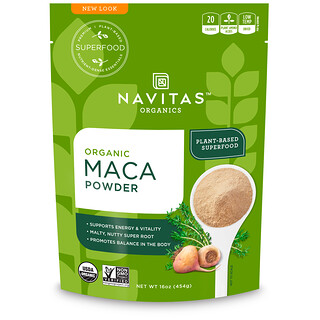 Navitas Organics, Organic Maca Powder, 16 oz (454 g)
