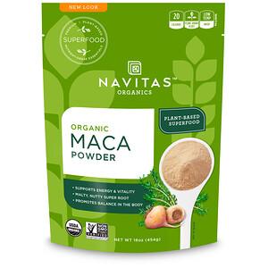 Навитас Органикс, Organic Maca Powder, 16 oz (454 g) отзывы