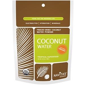Навитас Органикс, Organic, Coconut Water, Freeze-Dried Powder, 5.8 oz (165 g) отзывы покупателей