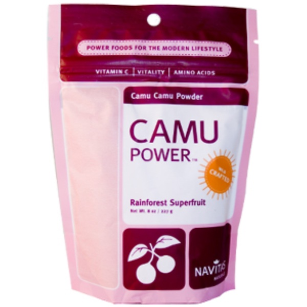 Navitas Organics, Camu Power, Camu Camu Powder, 8 oz (227 g) (Discontinued Item)