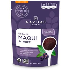Навитас Органикс, Organic Maqui Powder, Tart Berry, 3 oz (85 g) отзывы покупателей