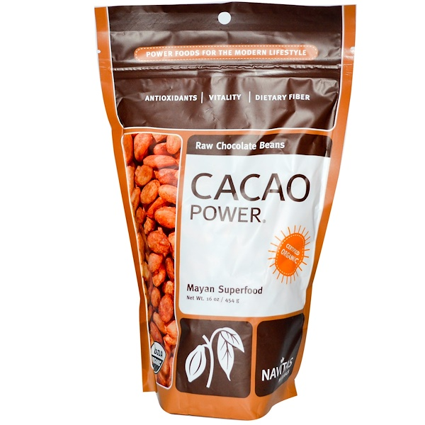 Navitas Organics, Cacao Power, 16 oz (454 g) (Discontinued Item)