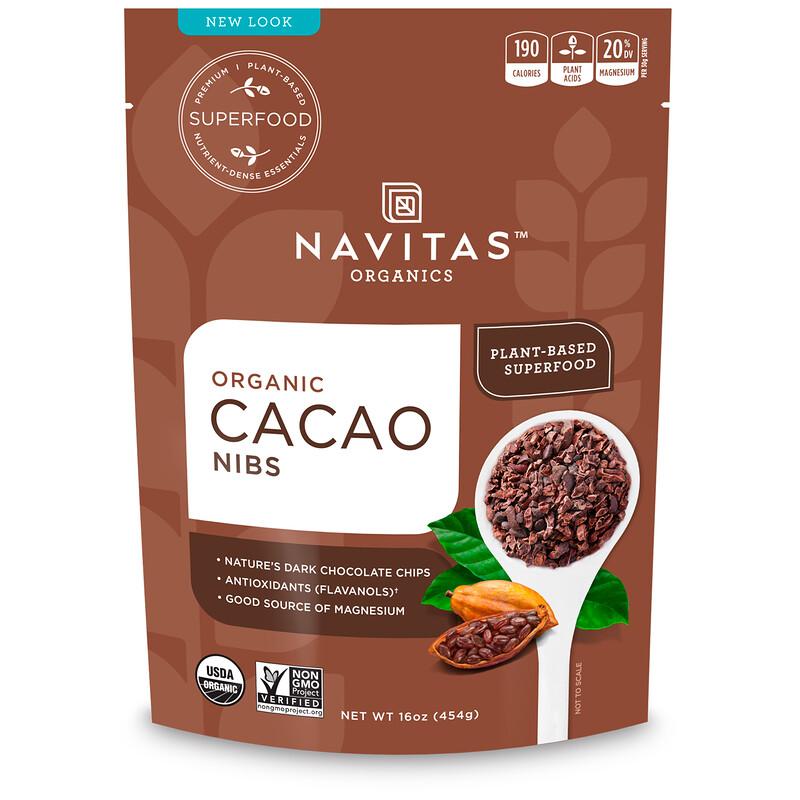 Organic, Cacao Nibs, 16 oz (454 g)