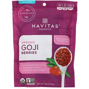 Навитас Органикс, Organic Goji Berries, 8 oz (227g) отзывы