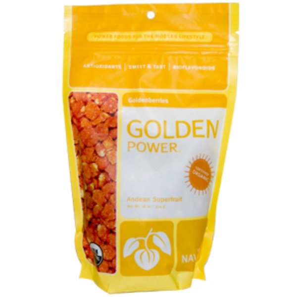 Navitas Organics, Golden Power, Goldenberries, 16 oz (454 g) (Discontinued Item)
