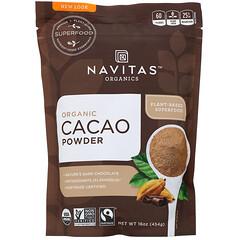 Navitas Organics, 有機可可粉,16 盎司(454 克)