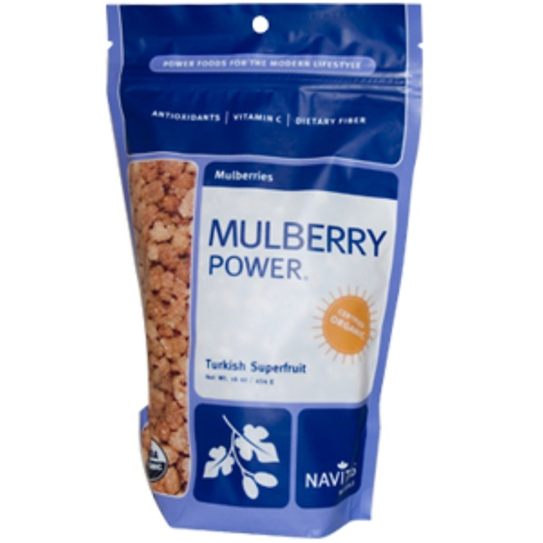Navitas Organics, Mulberry Power, Mulberries, 16 oz (454 g) (Discontinued Item)
