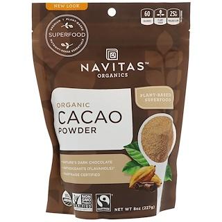 Navitas Organics, Organic Cacao Powder, 8 oz (227 g)