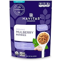 Navitas Organics, 유기농, 오디, 8 oz (227 g)