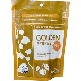 Navitas Organics, Organic, Golden Berries, 8 oz (227 g)