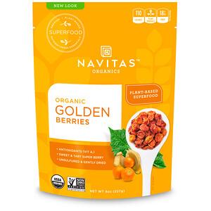 Навитас Органикс, Organic Golden Berries, 8 oz (227 g) отзывы