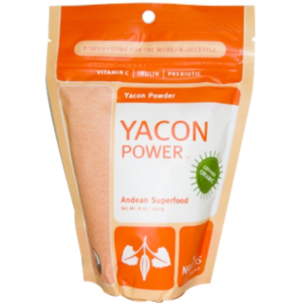 Navitas Organics, Yacon Power, Yacon Powder, 8 oz (227 g) (Discontinued Item)