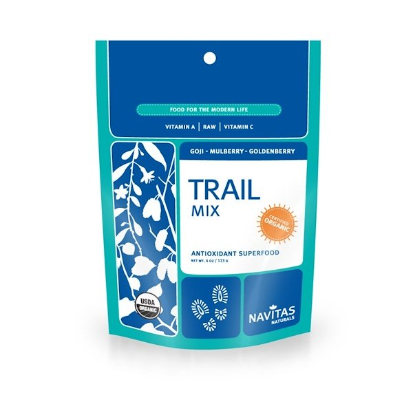 Navitas Organics, Trail Mix, Antioxidant Superfood, 4 oz (113 g) (Discontinued Item)
