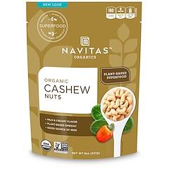 Navitas Organics, Orgânico, castanha de caju, 8 oz (227 g)