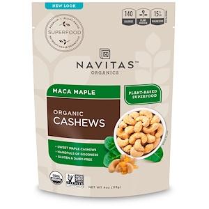 Навитас Органикс, Organic Cashews, Maca Maple, 4 oz (113 g) отзывы