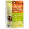 Navitas Organics, Coconut Chips, Caramel, 2 oz (57 g) (Discontinued Item)