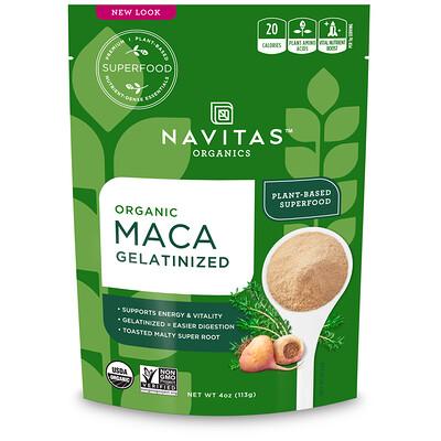 Купить Navitas Organics Органический Желатинизированный препарат маки, 4 унц. (113 г)
