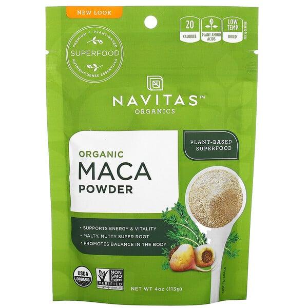 Organic Maca Powder, 4 oz (113 g)