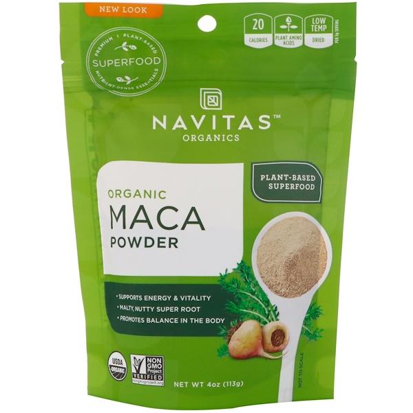 Navitas Organics, Organic Maca Powder, 4 oz (113 g)