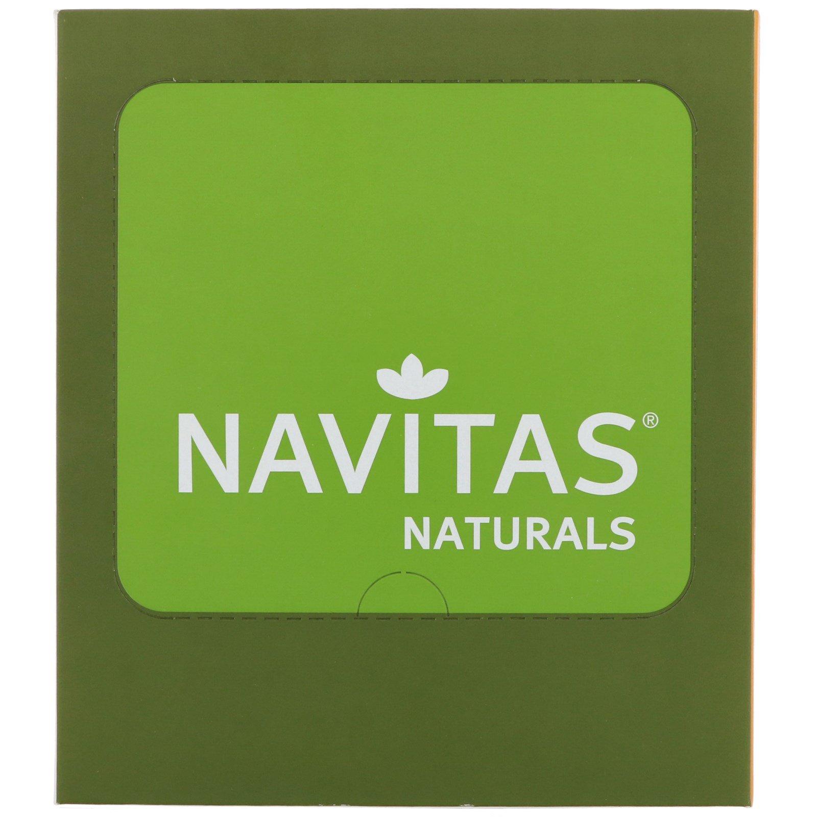 """Navitas Organics, """"Суперпродукт+ какао"""", органические батончики-суперпродукт с какао и клюквой, 12 батончиков, 16,8 унций (480 г)"""