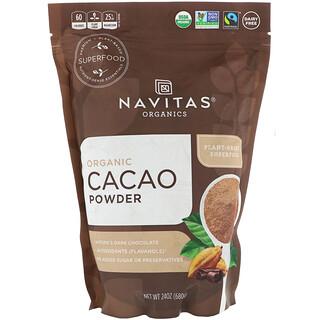 Navitas Organics, 有机可可粉,24 盎司(680 克)
