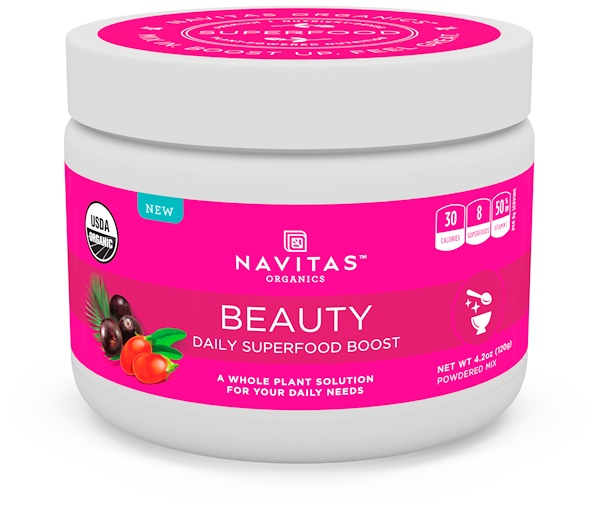 Navitas Organics, Beauty, Daily Superfood Boost, 4.2 oz (120 g) (Discontinued Item)