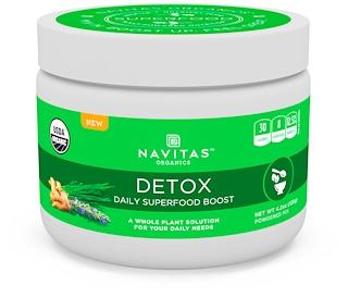 Navitas Organics, 디톡스, 데일이 슈퍼푸드 부스트, 4.2 oz (120 g)