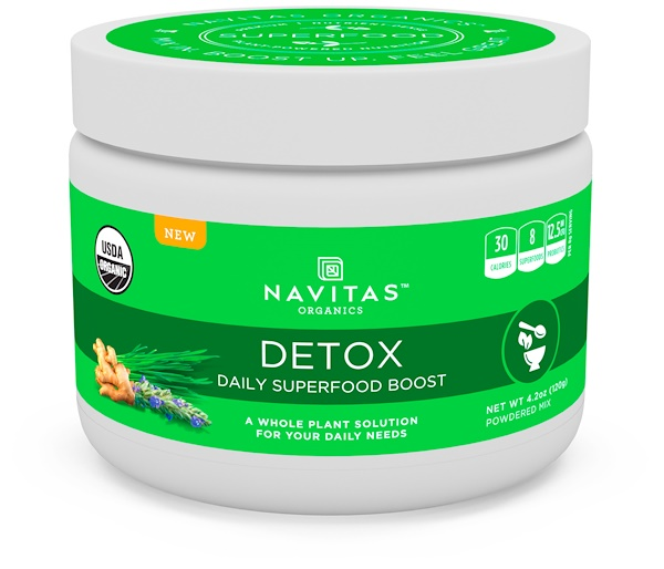 Navitas Organics, Detox, Daily Superfood Boost, 4.2 oz (120 g)