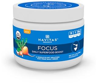 Navitas Organics, Focus, Daily Superfood Boost, 4.2 oz (120 g)
