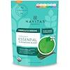 Navitas Organics, Organic Essential Superfood Blend, Vanilla & Greens, 8.4 oz (240 g)