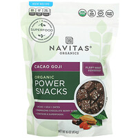 Navitas Organics, Organic Power Snack, Cacao Goji, 16 oz (454 g)