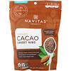 Navitas Organics, Organic Cacao Sweet Nibs, 8 oz (227 g)