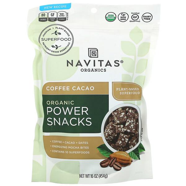 Organic Power Snacks, Coffee Cacao, 16 oz (454 g)