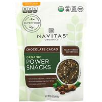 Navitas Organics, Organic Power Snacks, Chocolate Cacao, 16 oz (454 g)