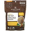 Navitas Organics, Organic Keto Cacao Powder, 8 oz (227 g)