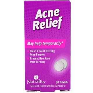 NatraBio, Acne Relief、60錠