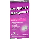 Отзывы о NatraBio, Приливы и менопауза, 60 таблеток