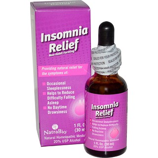 NatraBio, Insomnia Relief, 1 fl oz (30 ml)
