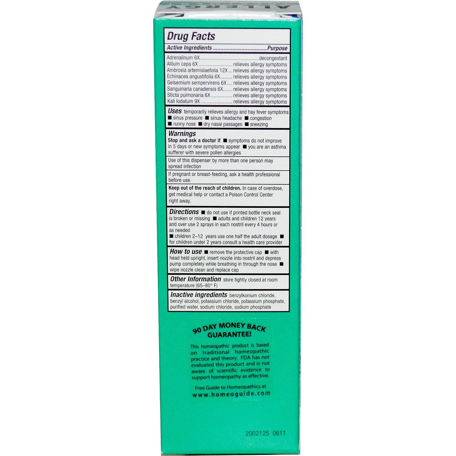 NatraBio, BioAllers, Sinus & Allergy Nasal Spray, Allergy Treatment