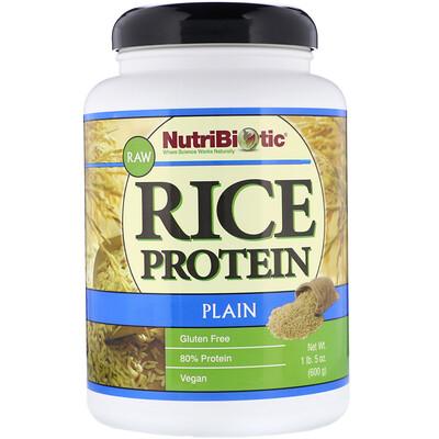 Купить Сырой простой рисовый белок, 1 фунт 5 унций (600 г)