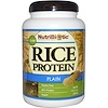 NutriBiotic, Raw Rice Protein, Plain , 1 lb. 5 oz (600 g)