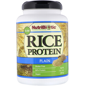 Нутрибиотик, Raw Rice Protein, Plain , 1 lb. 5 oz (600 g) отзывы покупателей