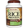 NutriBiotic, Raw Rice Protein, Chocolate, 1 lb 6.9 oz (650 g)